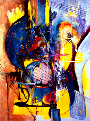 Pure Abstraction - Giclee Reproduction for Sale