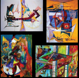 Second Gallery Wall - Click on the painting for more information